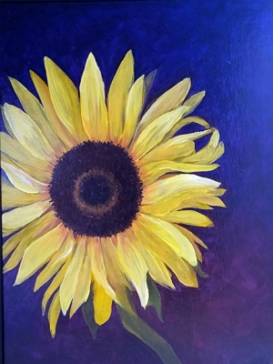 """Holly Woolson """"Curly Sunflower"""""""