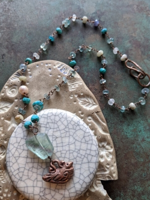 Gaea Cannaday, Bird Dreams Necklace
