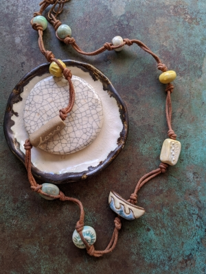 Gaea Cannaday, Ocean Dream Necklace