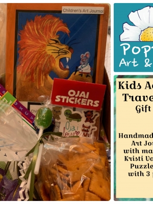 Poppies Art and Gifts, Kids Activity Gift Box SALE!