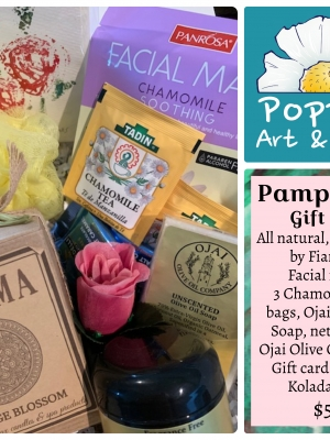 Poppies Art and Gifts, Pamper Me Gift Box SALE!