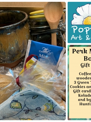 Poppies Art and Gifts, Perk Me Up Gift Box SALE!